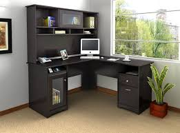 inspiring l shaped home office desks for proper corner furniture black office desks
