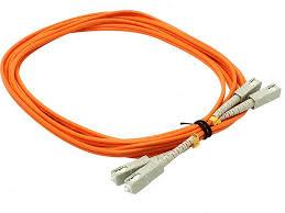 <b>Сетевой кабель VCOM Optical</b> Patch Cord SC-SC Duplex 1m что ...