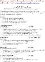 investmentbankinginternresume example bank teller resume templates    resume