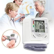 PDPO <b>Digital Automatic Blood Pressure</b> Arm Monitor Upper BP ...