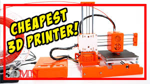 The <b>Cheapest 3D Printer</b> Yet - EasyThreed X1 - YouTube