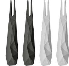 <b>Набор из 4 шпажек</b> CLUB Koziol, серый