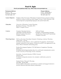 fresh graduate computer science resume template example resume fresh graduate computer science resume template example