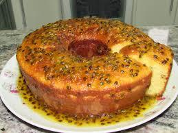 Resultado de imagem para bolo de maracuja