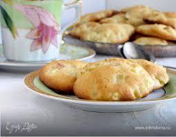 <b>Мягкое</b> яблочное <b>печенье</b>. Ингредиенты: сливочное масло, яйца ...