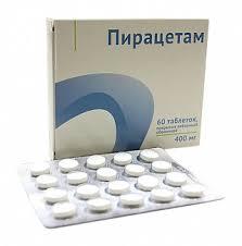 <b>Пирацетам 400мг 60</b> шт. таблетки покрытые пленочной оболочкой