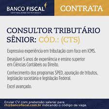 banco fiscal do brasil linkedin card emprego 1000x1000px png