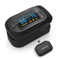 <b>Digital Finger Oximeter Portable</b> Electronic LED Display Fingertip ...