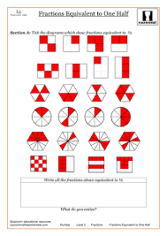 Equivalent Fractions by CazoomMaths - Teaching Resources - TESFractions. Fractions Equivalent to one Half.pdf