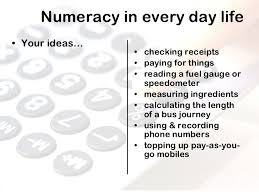 Image result for numeracy in life