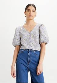 Buy Levi's <b>Levi's Holly Blouse</b> Monrovia Floral Lavender Frost ...