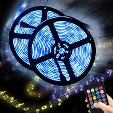 BRELONG Music Sensor 5m RGB 150-LED Strip <b>Light</b> для ...