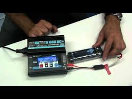 CHARGEMENT BATTERIE NIMH RC - YouTube