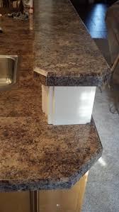 slab beech kitchen bevelled edge