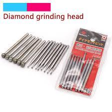 10pcs 2.35/3mm Spherical Diamond Polishing Grinding Head ...