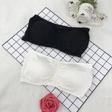 FMD <b>Sexy Women Brassiere Bra</b> Bustier Underwear Strapless Crop ...
