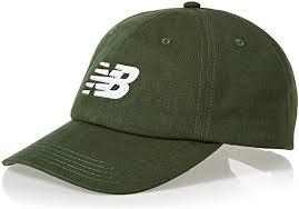 New Balance <b>6 Panel Curved Brim</b> Snapback Hat, green: Amazon ...
