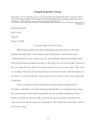 expository essay example for kids template expository essay example for kids