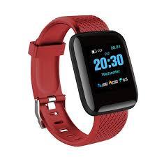 Smart Watch <b>116Plus</b> Blood Pressure Heart Rate Smart <b>Wristband</b> ...