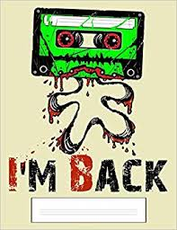 Buy I'm Back: Funny <b>Zombie Cassette</b> Tape Composition - Wide ...
