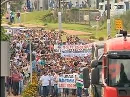 Resultado de imagem para manifestações caminhoneiros