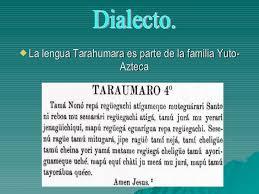 Resultado de imagen para lengua de los tarahumaras