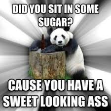 Pandas do it best! #funny #meme #pandas #cute #pickuplines ... via Relatably.com
