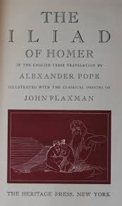 heritage press the iliad of homer the george macy imagery title