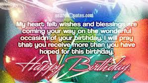 Emotional Birthday Wishes via Relatably.com