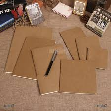 1pcs <b>A5 A6</b> small book <b>creative</b> simple loose-leaf hand book ...