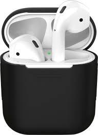 Купить <b>Чехол</b>-футляр <b>Deppa для</b> Apple AirPods Black по ...