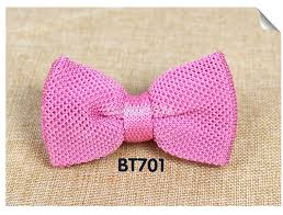 New <b>Men</b> Solid <b>Knitted Bowtie Bow Tie</b> for <b>Mens</b> Pre Tied Adjustable ...