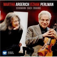 Schumann/Bach/Brahms (LP) by <b>Martha Argerich</b>, <b>Itzhak Perlman</b> ...