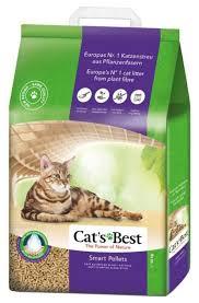 Комкующийся <b>наполнитель Cat's Best Smart</b> Pellets 10 кг/20 л ...