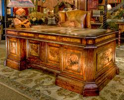 benedict desk unique in design and scale this beautiful leather inlaid top and burl beautiful home office furniture