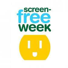 Wavy Lines: Screen-Free Week Happening Now! (with Quotes)