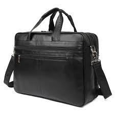 j m d genuine leather classic shoulder bag durable men messenger crossbody for man 1033a