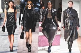 Модные кожаные вещи - 25 лучших образов на PEOPLETALK