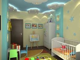 baby room decorating ideas ceiling design blue ceiling white clouds modern lighting baby bedroom ceiling lights