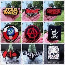 <b>Nicediy</b> Stalker UFO Embroidered Stripe Patches Badge <b>Iron</b> on ...