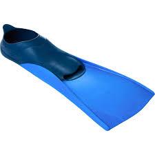 TRAINFINS LONG <b>SWIM FINS</b> 500 Blue