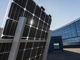 Photovoltaic <b>panels</b> energy efficient: the EGP production plant | Enel ...
