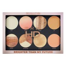 <b>Палетка хайлайтеров</b> Revolution Pro HD <b>Highlighter</b> Palette ...