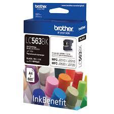 Купить <b>Картридж</b> для струйного принтера <b>Brother LC563BK</b> в ...