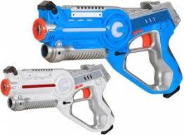 <b>Лазерный бой</b> на батарейках (2 пистолета) - ZYB-B3266
