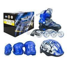 <b>Коньки</b> Maxcity Volt Combo <b>р</b>.31-34 Blue