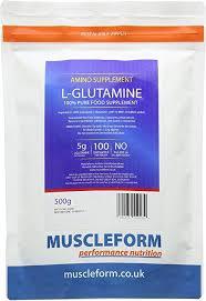 Muscleform 500 g <b>L</b>-<b>Glutamine Powder</b>: Amazon.co.uk: Health ...