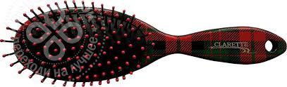 Купить <b>Щетка для волос</b> Clarette CFB 688 <b>овальная</b> с ...