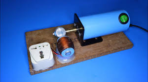 How to make <b>60W</b> Generator , DIY <b>220V</b> AC Generator from 3V DC ...