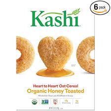 Kashi Heart To Heart Honey Toasted Oat Cereal, 12 ... - Amazon.com
